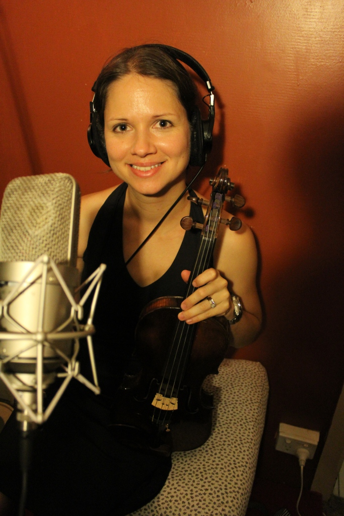 Chelsea played violin for a few tracks
